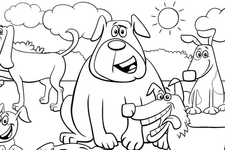 Dog Coloring Pages Printable Coloring Pages Of Dogs For Dog Lovers Of All Ages Printables 30seconds Mom