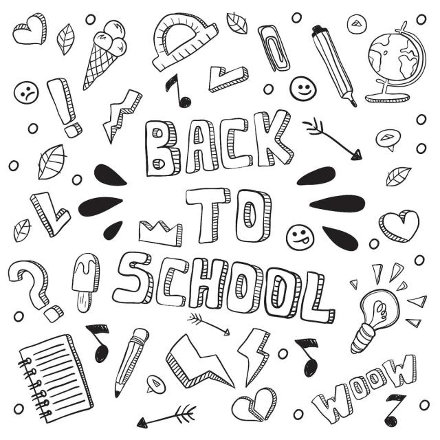 Back-to-School Coloring Pages: Fun & Free School-Themed Coloring