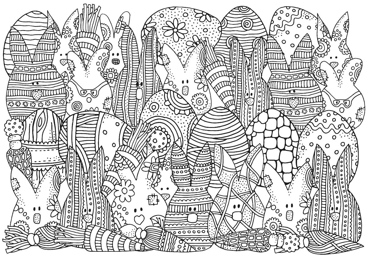 Easter Coloring Pages Fun Spring Themed Printables For