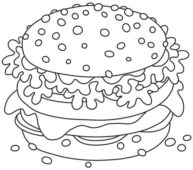 Food Coloring Pages: 24 Free Printable Coloring Pages of Food That