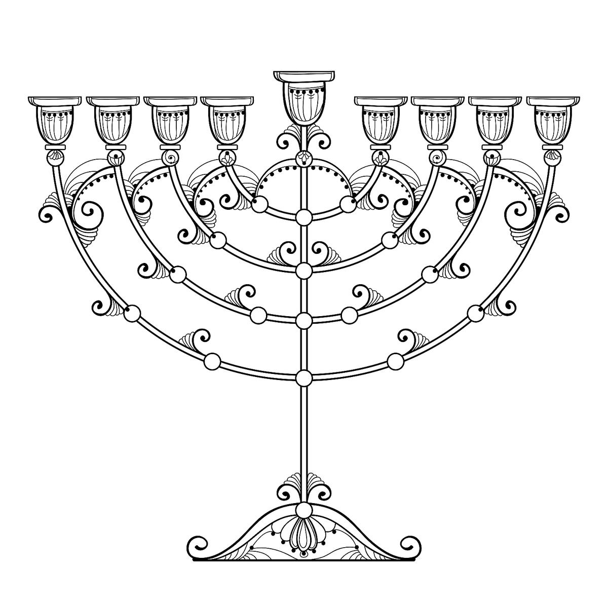 Hanukkah Coloring Pages For Kids Free Printable Coloring
