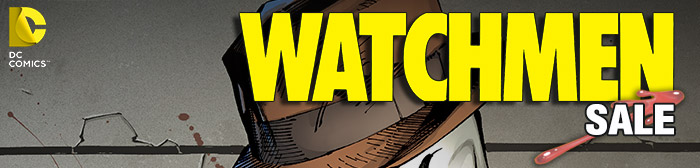 DC COMICS - WATCHMEN SALE