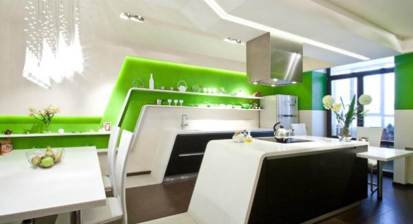 Идеи для кухни: Дизайн стен на кухне.