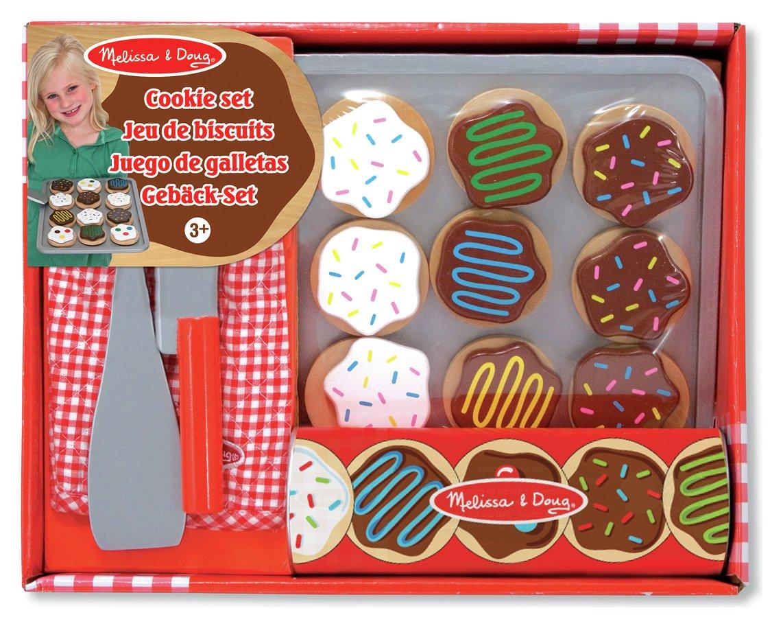 melissa and doug wooden cookie set
