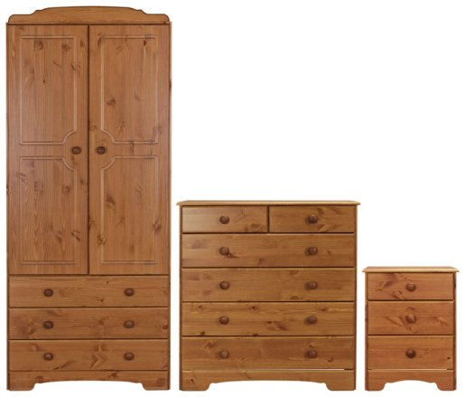 buy argos home nordic 3 piece 2 door wardrobe set pine bedroom furniture sets argos