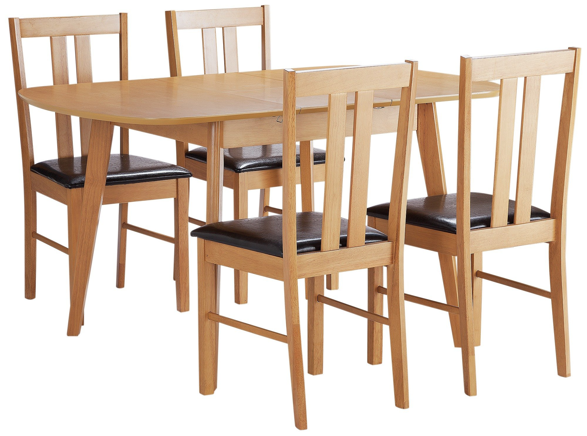 Argos Home Witley Extendable Wood Table & 4 Chairs