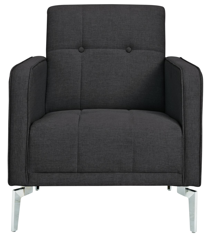 Tori Armchair In Connor Fabric Grey