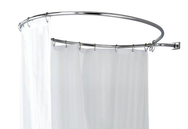buy argos home round shower rail shower poles argos