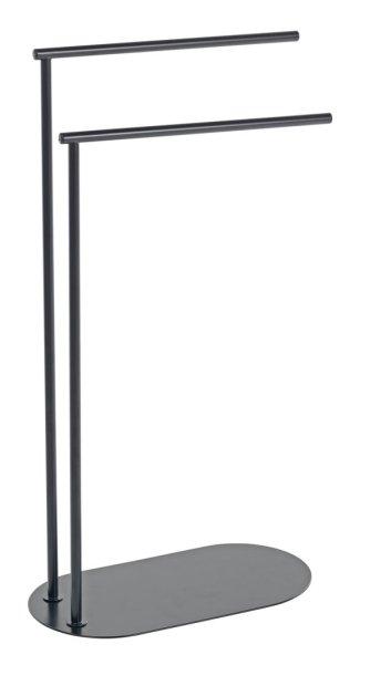 buy argos home freestanding towel rail matt black towel rails and rings argos