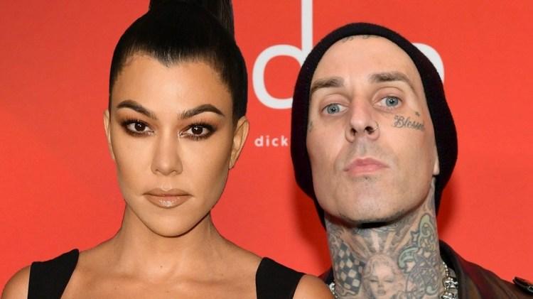 Kourtney Kardashian Comments on Boyfriend Travis Barker's ...