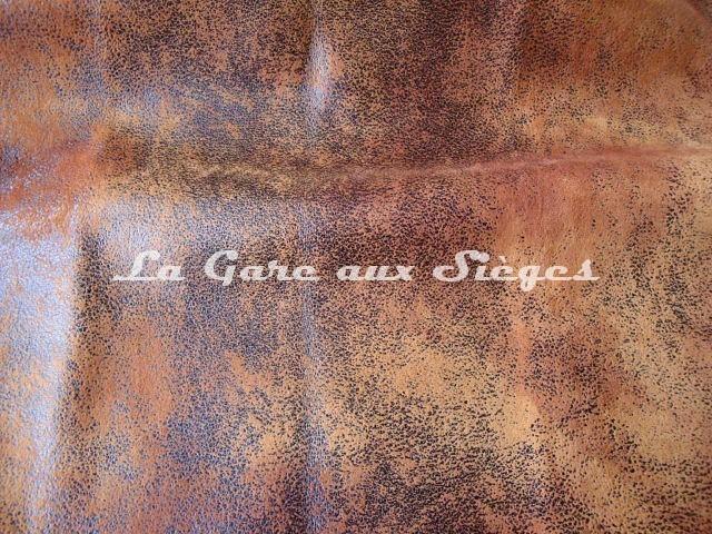 tissu casal cuir vieilli