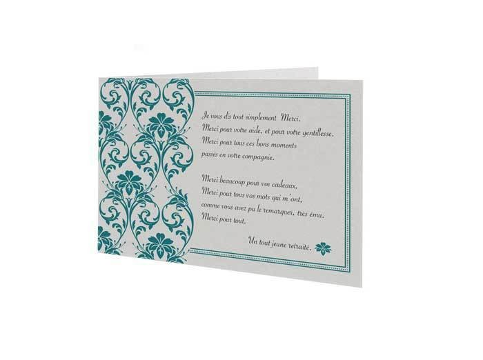 carte invitation personnalise topaze