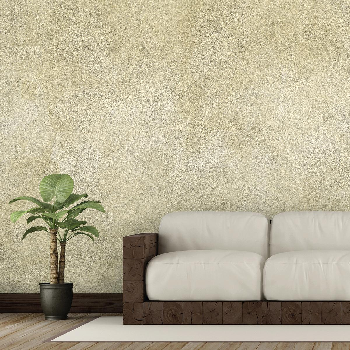 Pittura decorativa ecologica, capace di creare in base all'angolo della luce. Pittura Con Effetti Decorativi Leroy Merlin
