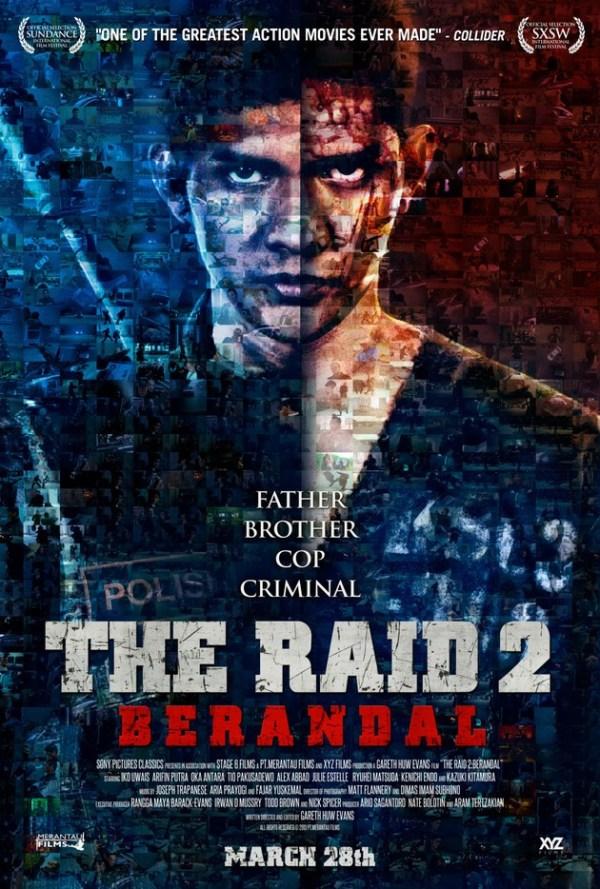 The Raid 2 Berandal - poster - cool