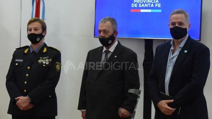 Chimenti ya ocupa el lugar de Víctor Sarnaglia.
