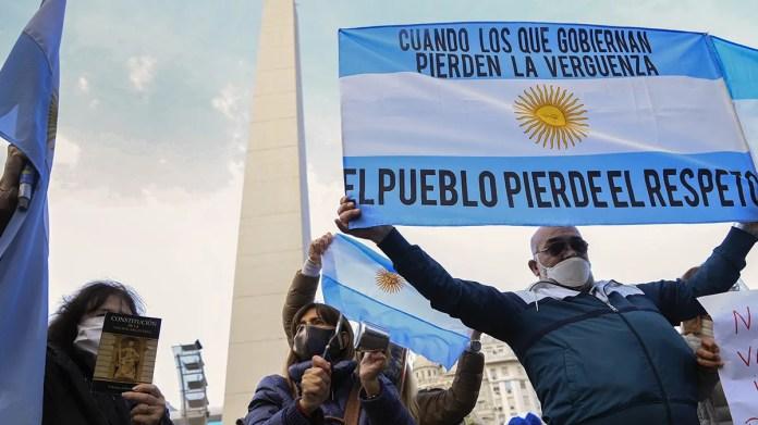 Los opositores al gobierno ganan las calles con frecuencia y ponen límites a un peronismo históricamente acostumbrado a controlar el espacio público.