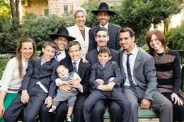 Ehpraim and Esther Shore with their family