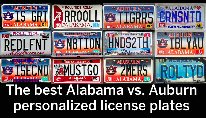 Personalized License Plate Ideas