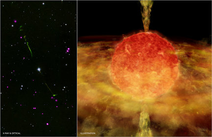 NASA finds evidence of 'cannibal' star using Chandra ...