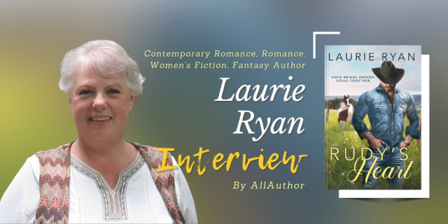 Laurie Ryan latest interview by AllAuthor