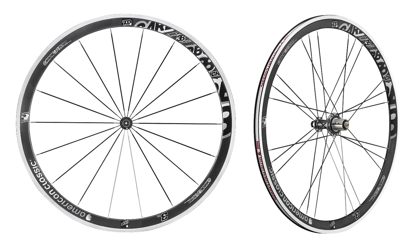 American Classic Wheelset Carbon 38 Tires Shimano Version