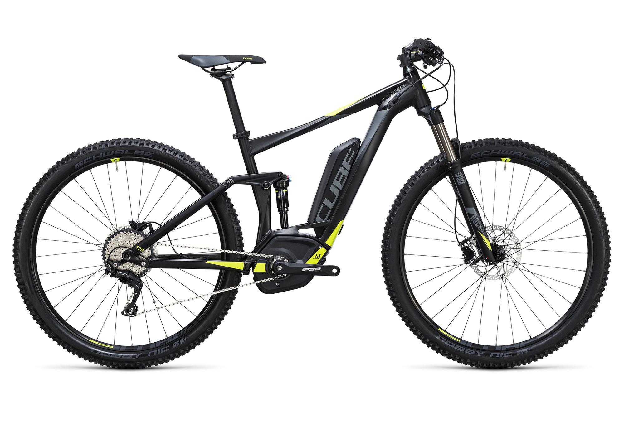 Cube Stereo Hybrid 120 Hpa Pro 500 Bike 27 5 Boost Shimano Xt 11s Black Yellow