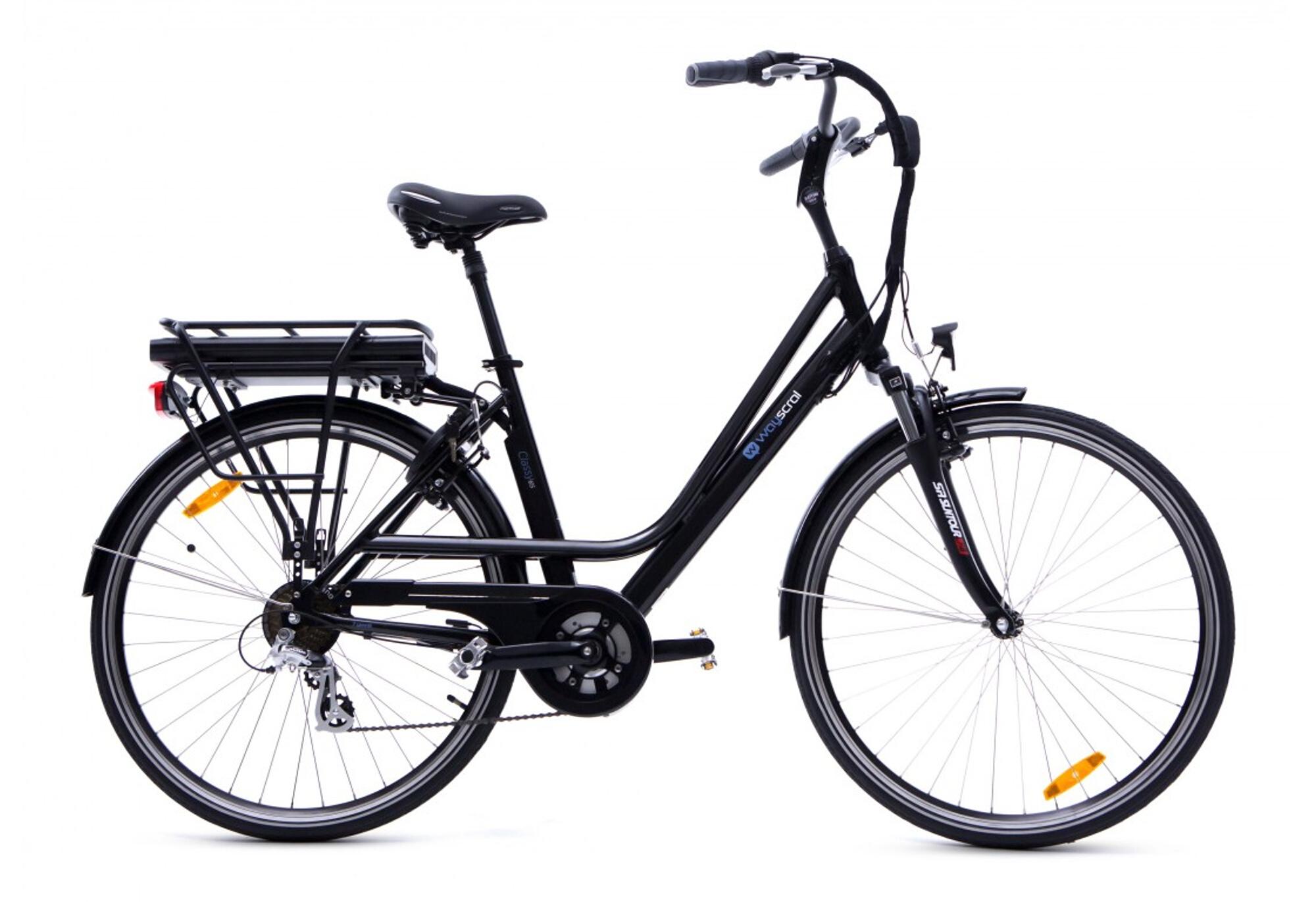 Wayscral Classy 615 36v 6 6ah 27 5 Urban E Bike Shimano Altus 7v Black