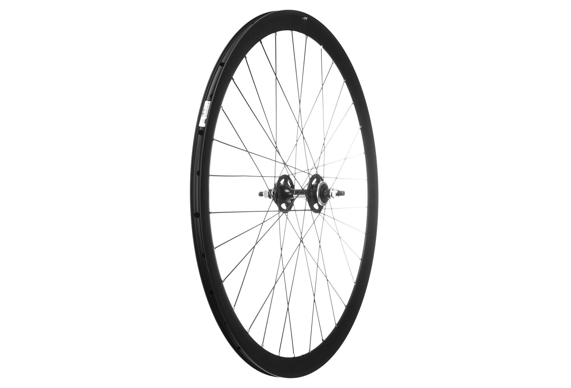 Miche Rear Wheel Wr Pistard Full Black Tires Tubetype