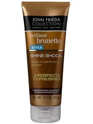 John Frieda Brilliant Brunette Shine Shock Leave On