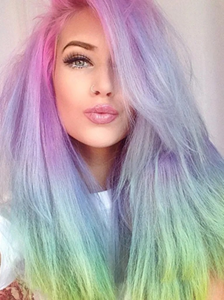 It Only Takes 20 Minutes To Create RainbowHair Allure