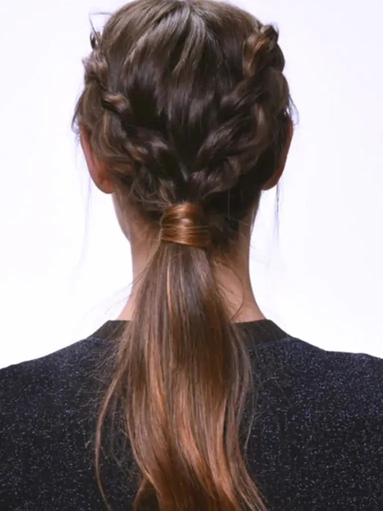 This Dutch Braid Ponytail Is Way Easier Than It Looks Allure