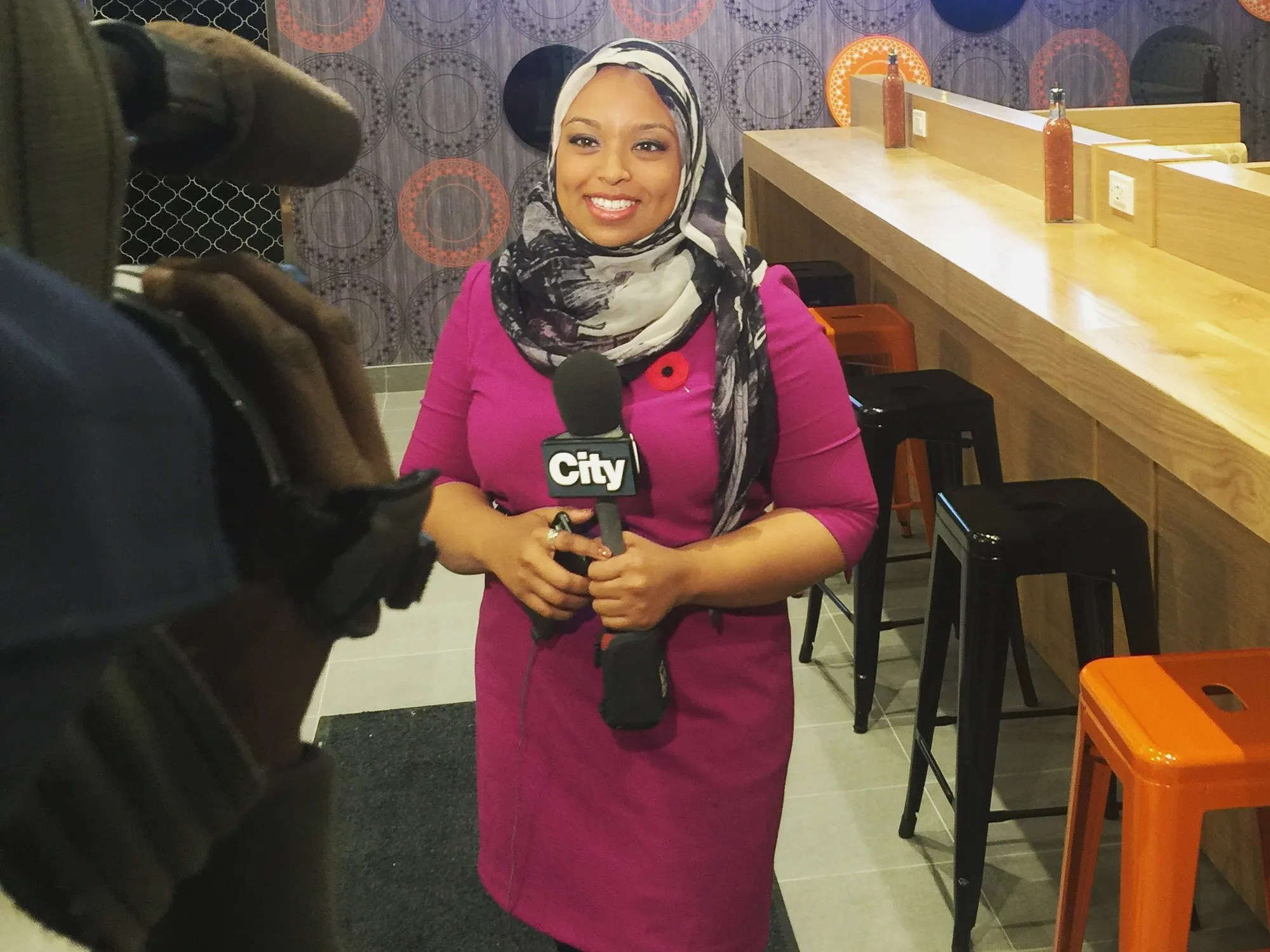 When a reporter from the sun thought it inappropriate that she reported on the terrorist. Meet Ginella Massa Canada S First Hijab Wearing News Anchor Allure