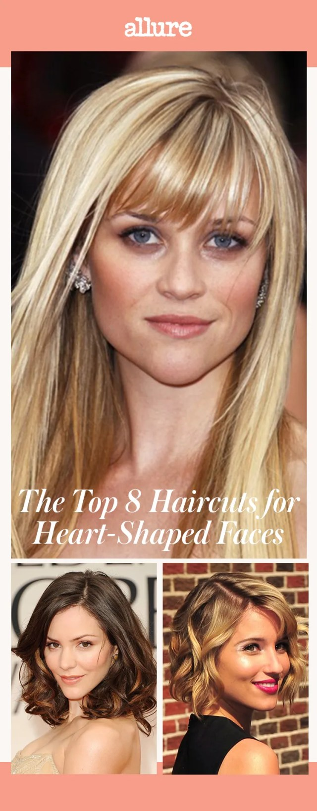 the top 8 haircuts for heart-shaped faces | allure
