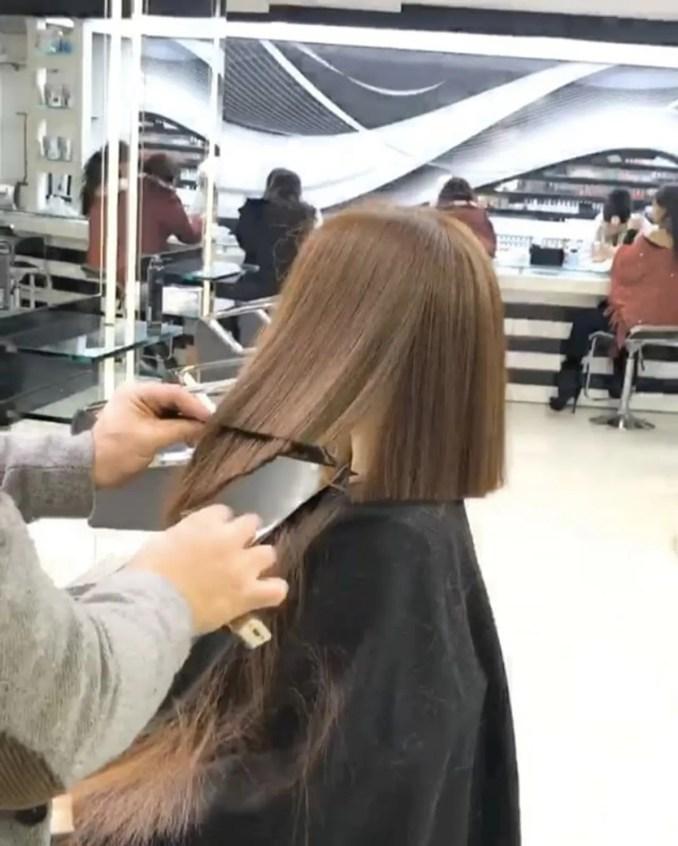 Image Result For Razor Cut Long Hair