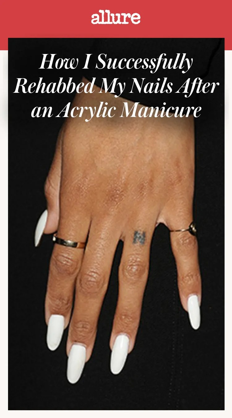 Here's How I Successfully Rehabbed My Nails After an Acrylic
