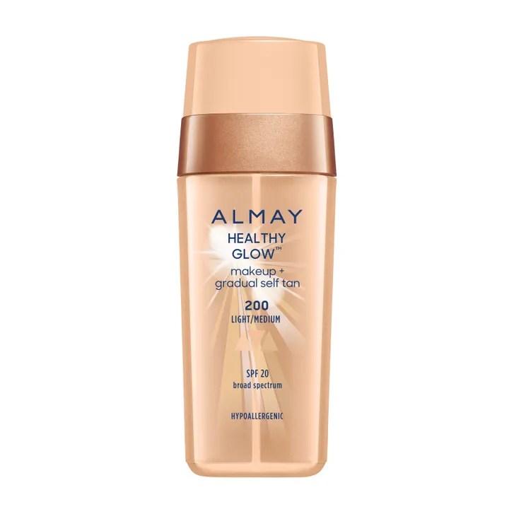 Almay Healthy Glow Makeup + Self Tan