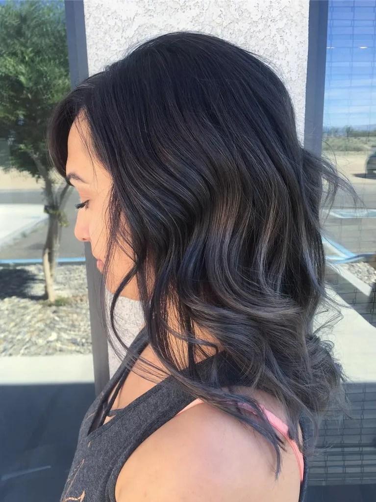 Charcoal Hair Is Trending On Instagram Allure