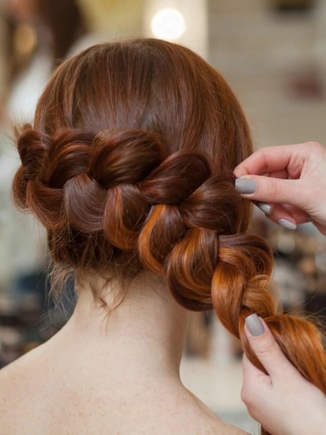 how to french braid your hair in 5 easy steps | allure