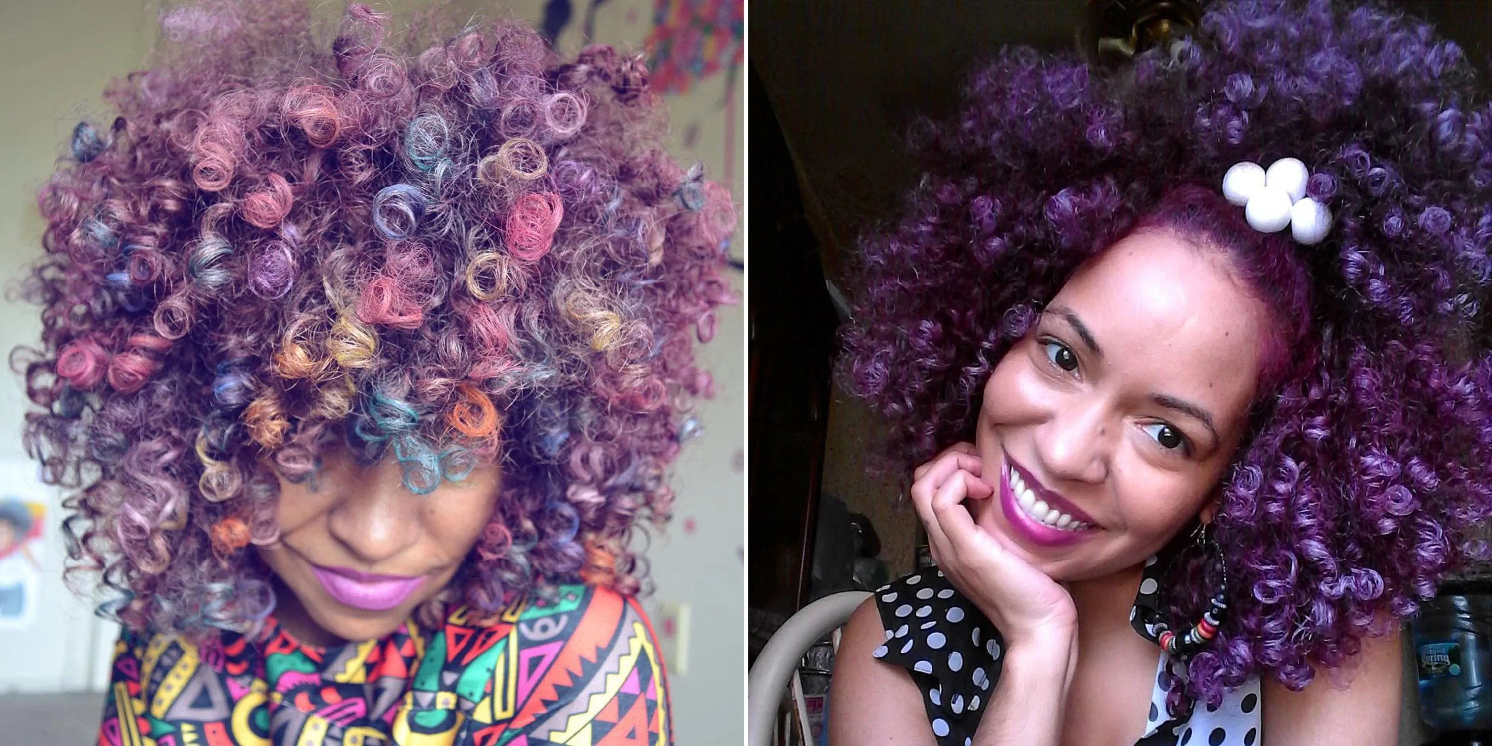 This Woman Creates Her Own Temporary Hair Color Allure