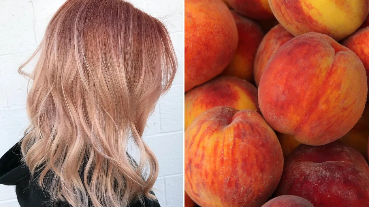 Copper Peach Color Melt Is Instagrams Latest Take On
