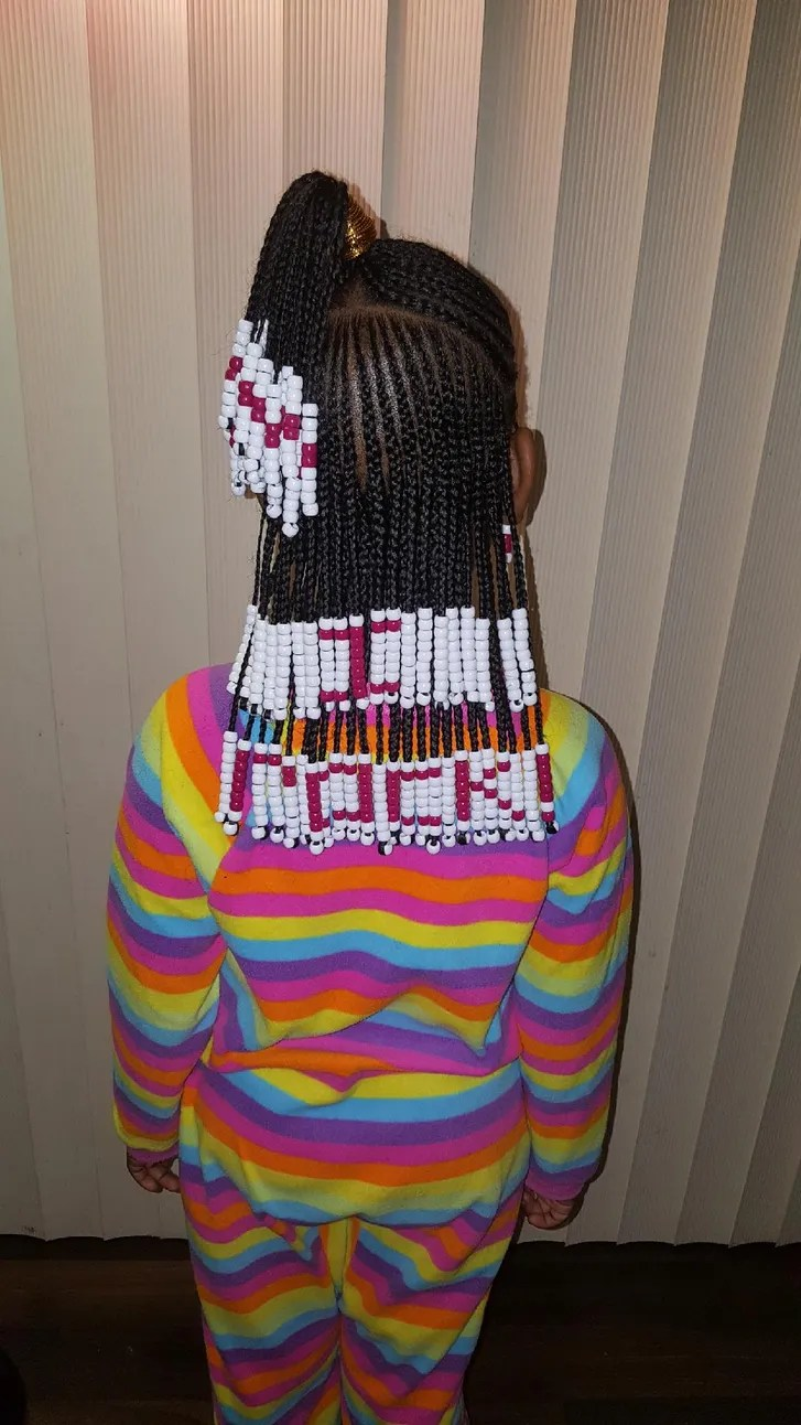 Hairstylist Creates Amazing Beads And Braids Looks To Help