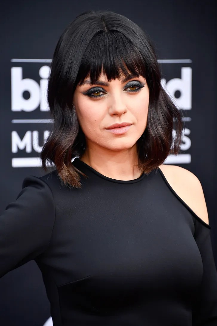 Mila Kunis Debuts Blunt Bangs At 2018 Billboard Music
