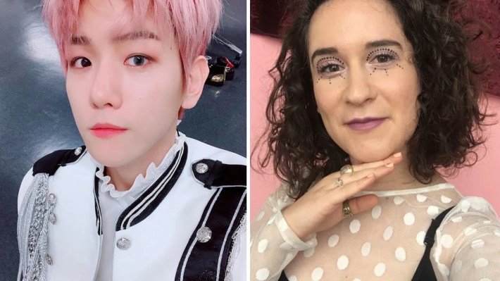 i did my makeup like k-pop star baekhyun of exo for a week - allure