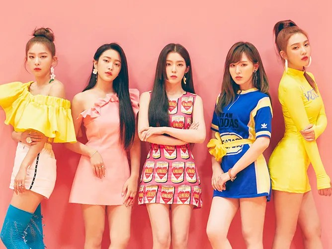 """K-Pop Group Red Velvet Shares Best Beauty Moments From """"Power Up"""" Video 