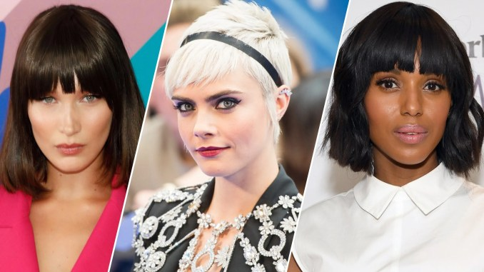 15 best hairstyles with bangs - ideas for haircuts with bangs | allure