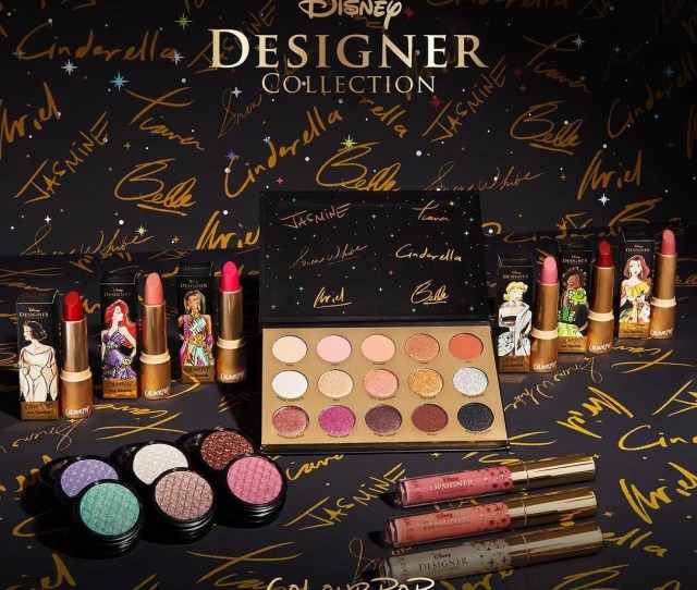 Colourpop To Launch The Disney Princess Designer Makeup Collection Allure