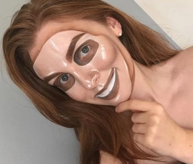 Belinda Maines Purge Mask Halloween Makeup Costume