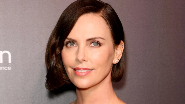 charlize theron just got a bowl haircut — see photos | allure