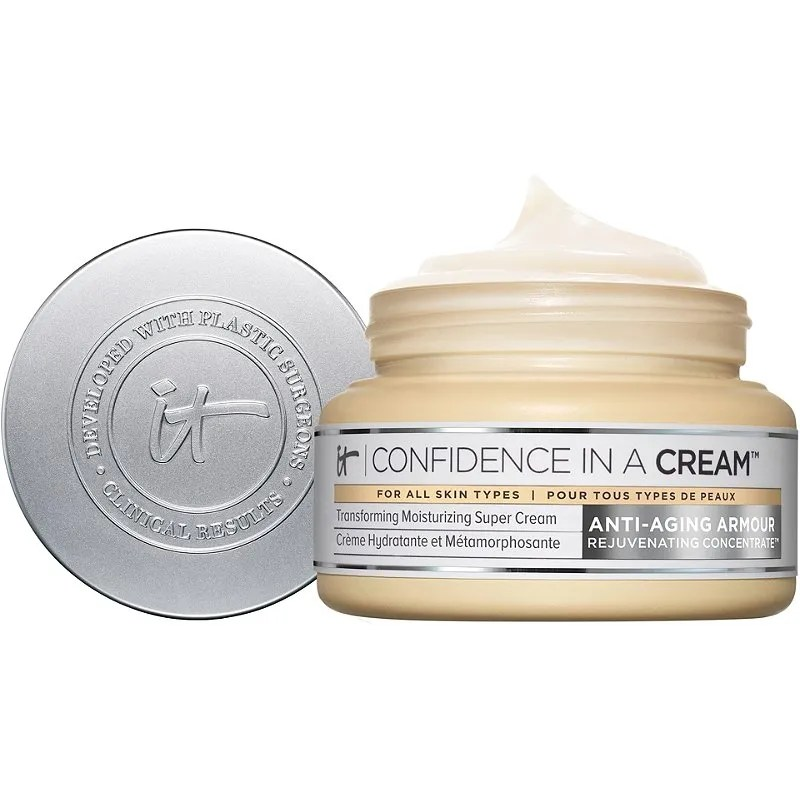 It Cosmetics Confidence in a Cream  on white background