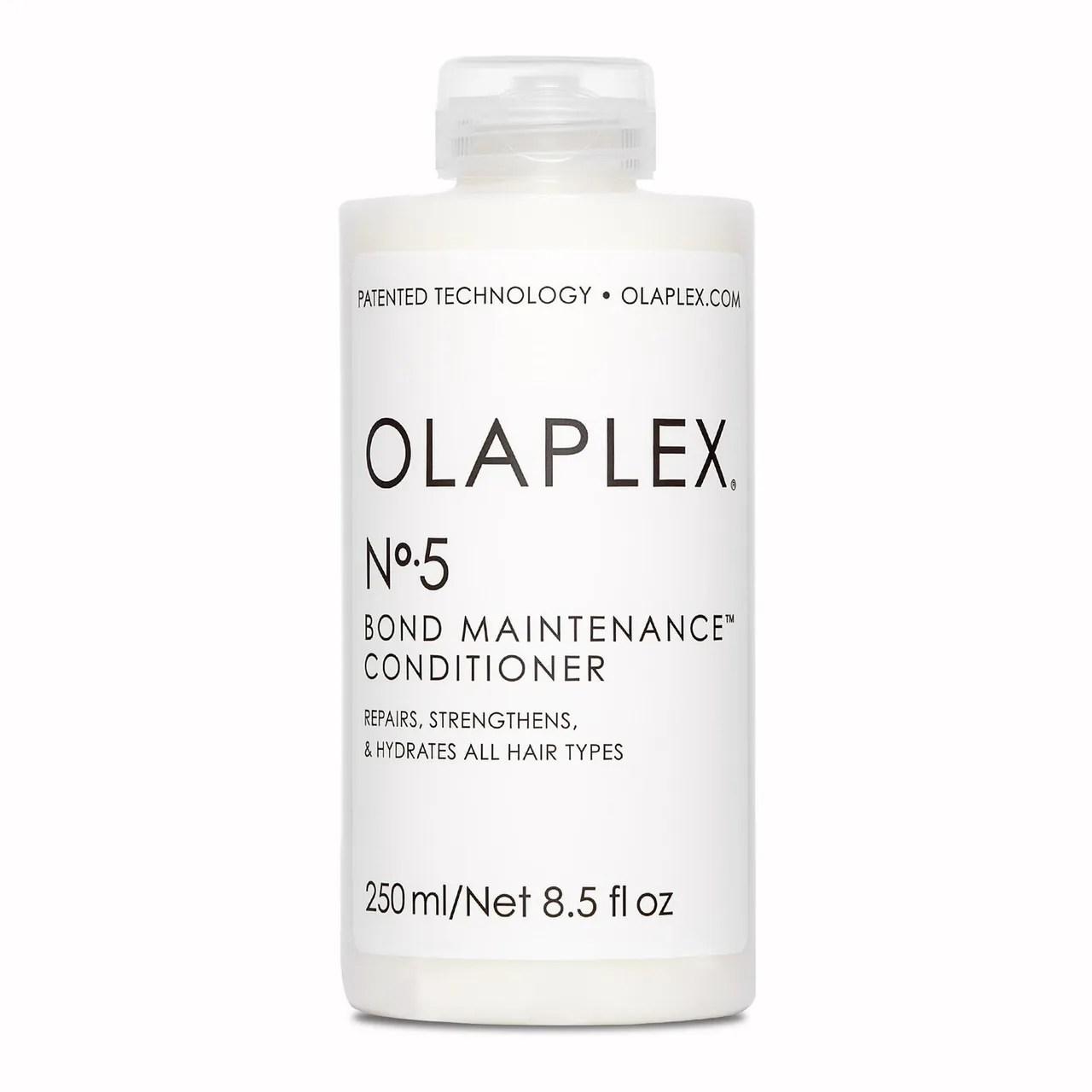 Olaplex No.5 Bond Maintenance Conditioner on white background